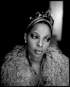 Mary J Blige  - signed Limited Edition Oversize print