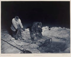 Hauling Up The Fish Trap (1910-13)