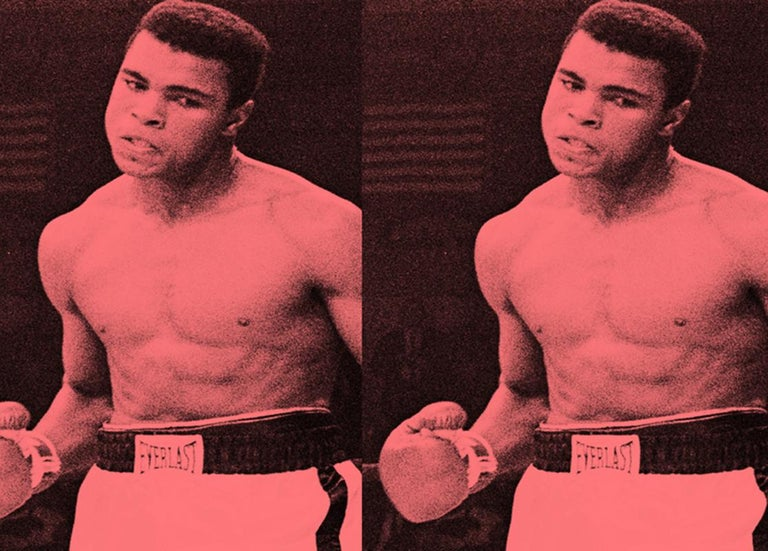 Army Of Me II - Oversize signed limited edition - Pop Art - Muhammad Ali For Sale 3