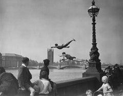 Thames Divers (1934) - Silver Gelatin Fibre Print