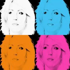 Blondie Quattro by BATIK signed limited edition Oversize POP ART