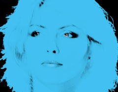 Blondie Blue by BATIK signed limited edition Oversize POP ART