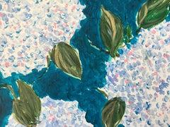 Hydrangeas, 2019, Acrylic on Paper