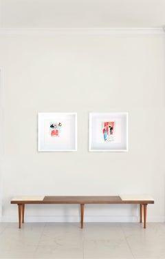 Pop Art Portrait Drawings and Watercolours