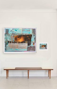 """Eternal Recurrence #21"" diptych. Large photographic print and collage, 2015"