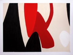 Untitled X, One of a Kind Oil on Paper, Unframed