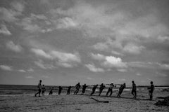 Pescadores, Large Black and White Archival Pigment