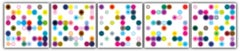 Los Paises Frios 1, 2, 3, 4 ,5  Archival digital print