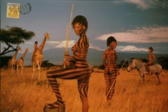 Kenya, From the Mani- Cartes Postales series