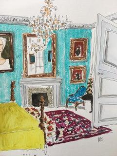 A London room, 2021
