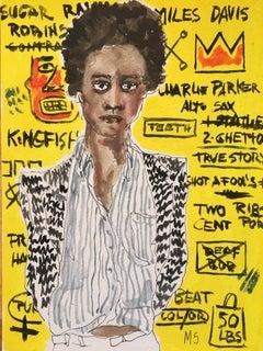 Yellow Basquiat, 2021