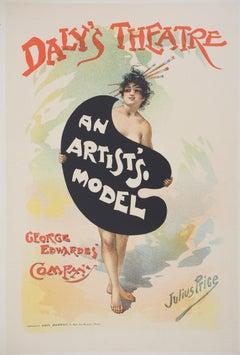 An Artist's Model - Lithograph (Les Maîtres de l'Affiche), 1895