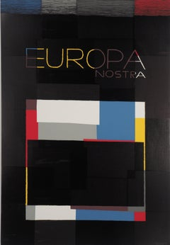 Europa Nostra - Original screen print, Handsigned