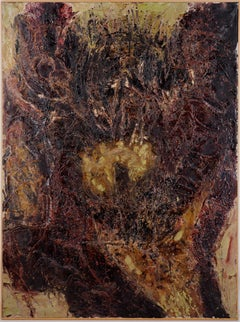 """Abstraction """"God Gives"""" - Original Oil on Canvas, Signed"""