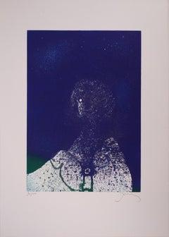 Interstellar Portrait - Original handsigned etching - 100 ex