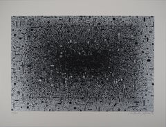 Electronic, Complexity of MicroSystems Silver - Original Handsigned Screen Print