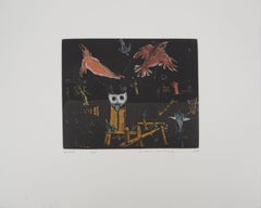 The Birds in the Night - Etching, Ltd 60 copies
