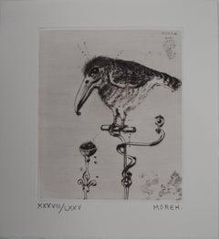 The Little Bird - Etching, Ltd 75 copies