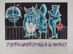 Comedia dell'Arte - Etching, Ltd 60 copies