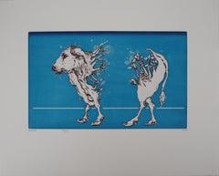 The Vegetal Cow - Etching, Ltd 75 copies