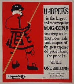 Harper's Magazine - Lithograph (Les Maîtres de l'Affiche), 1895