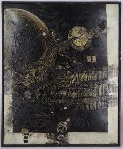 The Secret Nothingness - Original oil on canvas, Handsigned