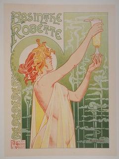 Absinthe Robette - Lithograph (Les Maîtres de l'Affiche), Imprimerie Chaix 1897