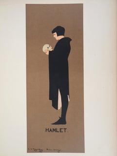 Shakespeare : Monologue of Hamlet - Lithograph (Les Maîtres de l'Affiche), 1897