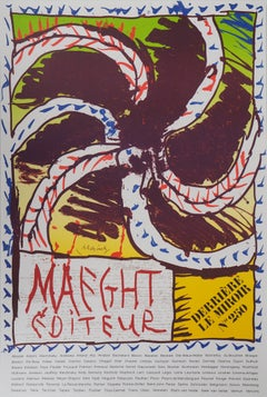 The Wheel (Maeght) - Vintage Lithograph Poster, 1982