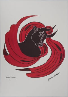 Astrology and Zodiac : Taurus - Lithograph, Ltd 100 copies