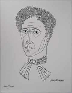 Portrait of my Friend Jean Cocteau - Lithograph, Numbered /100