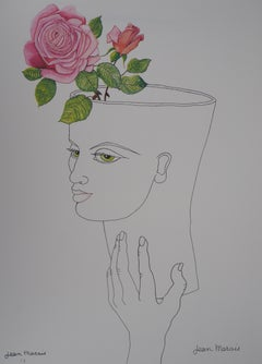 Flowering Head - Lithograph - Artist Proof