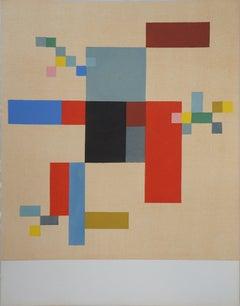 Composition - Lithograph, 1956