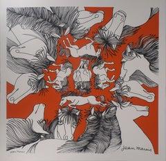 Horses - Lithograph, Ltd 50 copies