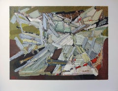 Abstract composition - Lithograph, Mourlot