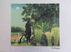 The Snake Charmer - Lithograph - Limited /300ex