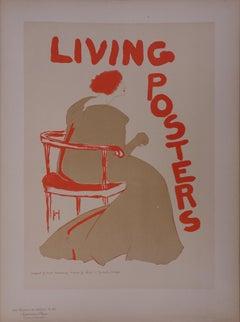 Living Posters (Chicago) - Lithograph (Les Maîtres de l'Affiche), 1897