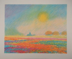 Normandy : A Nice Summer Day - Original lithograph