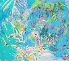 Impressionist Tropical Scenery - Original Handsigned Painting