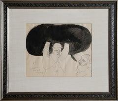 """Political Demagogy III"", 1968 by Jose Luis Cuevas"