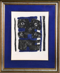 Bornabour, Framed Etching by Jacques Soisson 1974