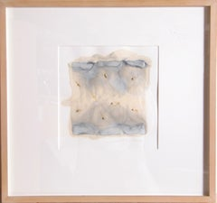 Abstract Encaustic Painting by Juhachiro Takada