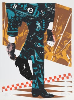 Senza Titolo, Pop Art Serigraph by Gianni Bertini