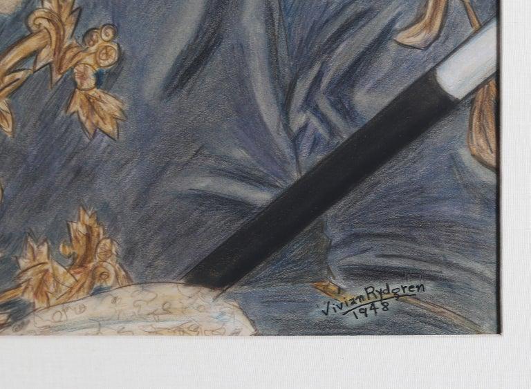 Portrait of a Louis XIV Period Gentleman - Romantic Art by Vivian Rydgren