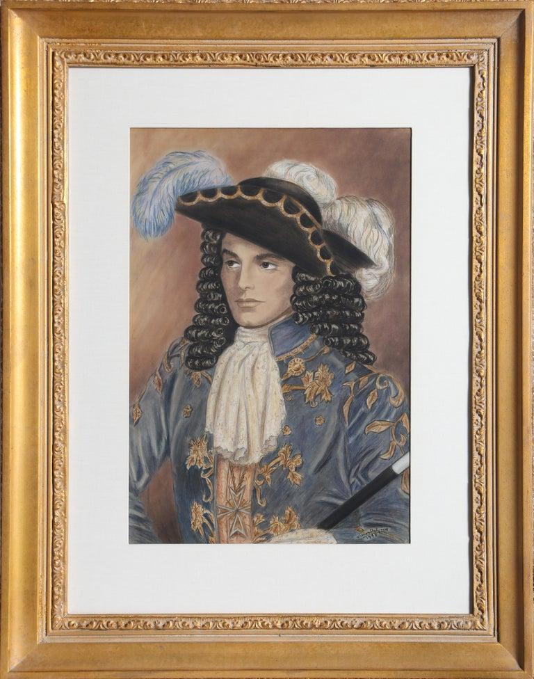 Portrait of a Louis XIV Period Gentleman - Art by Vivian Rydgren