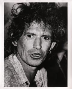 Keith Richards Rolling Stones at the Chelsea Hotel