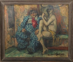 Clown and Nude