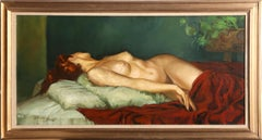 Reclining Nude, Oil Painting by Daniel Barry
