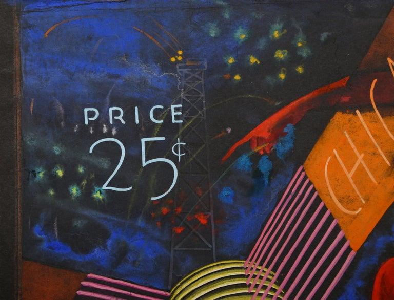 World's Fair 1934 (Chicago), Art Deco Drawing by A. Raymond Katz For Sale 1