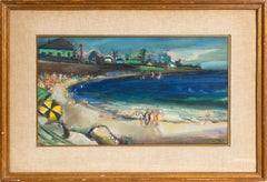 Rockport, Maine, Acrylic Seascape Painting by Jean Louis Liberte